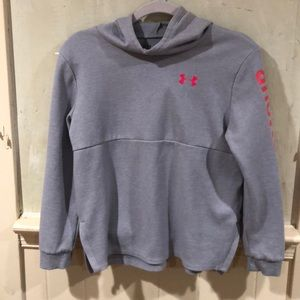 Youth loose fit Under Armour hoodie L